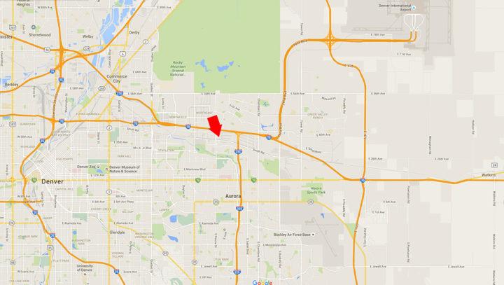 RAW Photographic Studio Denver map